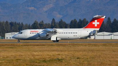 HB-IXQ - Swiss British Aerospace BAe 146-300/Avro RJ100