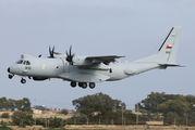 Oman Air Force Casa stopover at Malta Intl title=