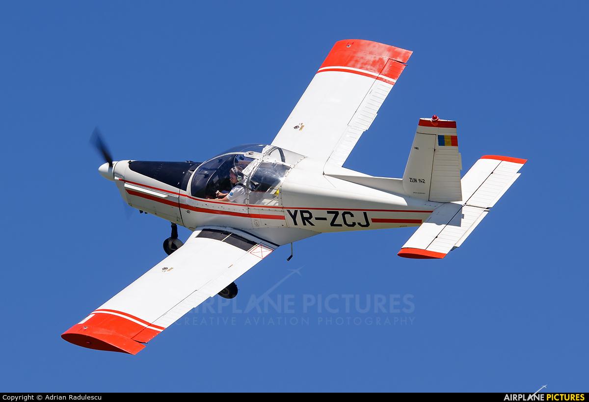 Romanian Airclub YR-ZCJ aircraft at Ploiesti - Strejnic