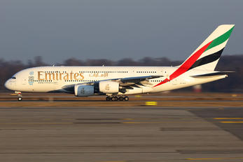 A6-EEZ - Emirates Airlines Airbus A380