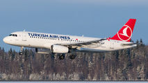 TC-JPD - Turkish Airlines Airbus A320 aircraft