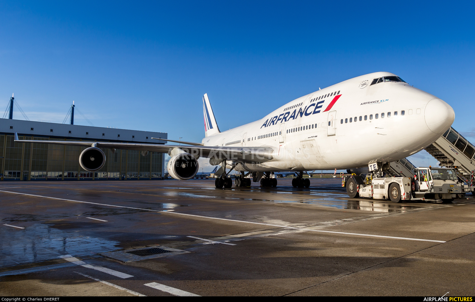 Air France F-GITE aircraft at Paris - Charles de Gaulle