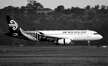 ZK-OJK - Air New Zealand Airbus A320