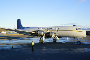 N100CE - Everts Air Cargo Douglas DC-6A