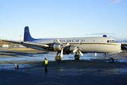 N100CE - Everts Air Cargo Douglas DC-6A aircraft