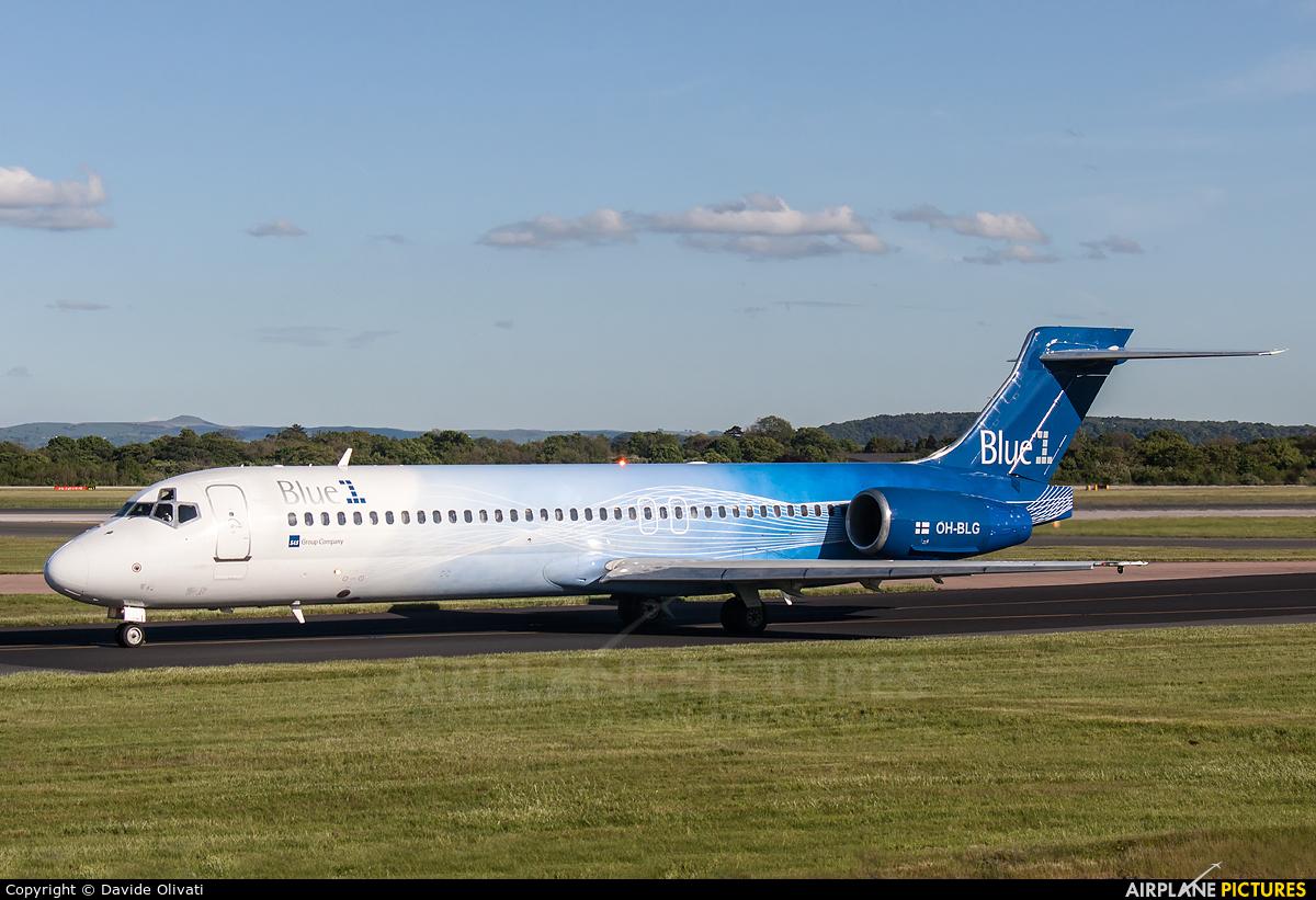 Blue1 OH-BLG aircraft at Manchester