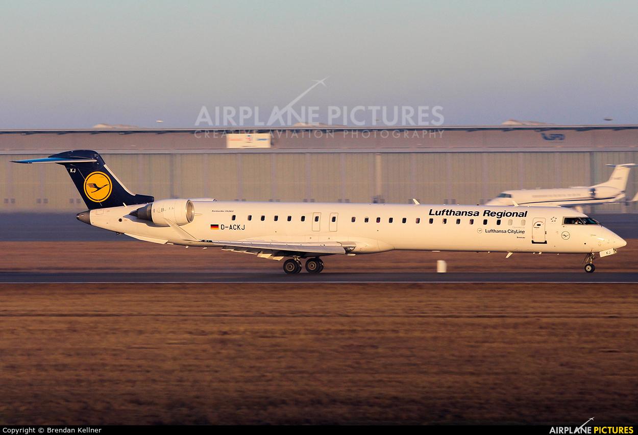 Lufthansa Regional - CityLine D-ACKJ aircraft at Stuttgart