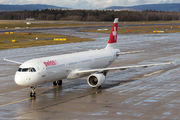 HB-IOD - Swiss Airbus A321 aircraft
