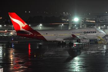 VH-OJT - QANTAS Boeing 747-400
