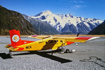 ZK-MCK - Mount Cook Airlines Pilatus PC-6 Porter (all models)