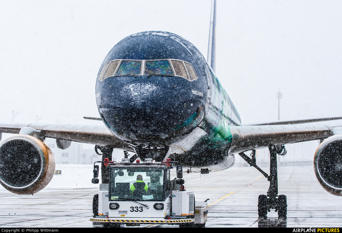 Icelandair TF-FIU aircraft at Undisclosed location