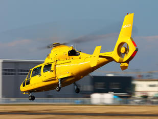 JA04CH - Aero Asahi Eurocopter AS365 Dauphin 2