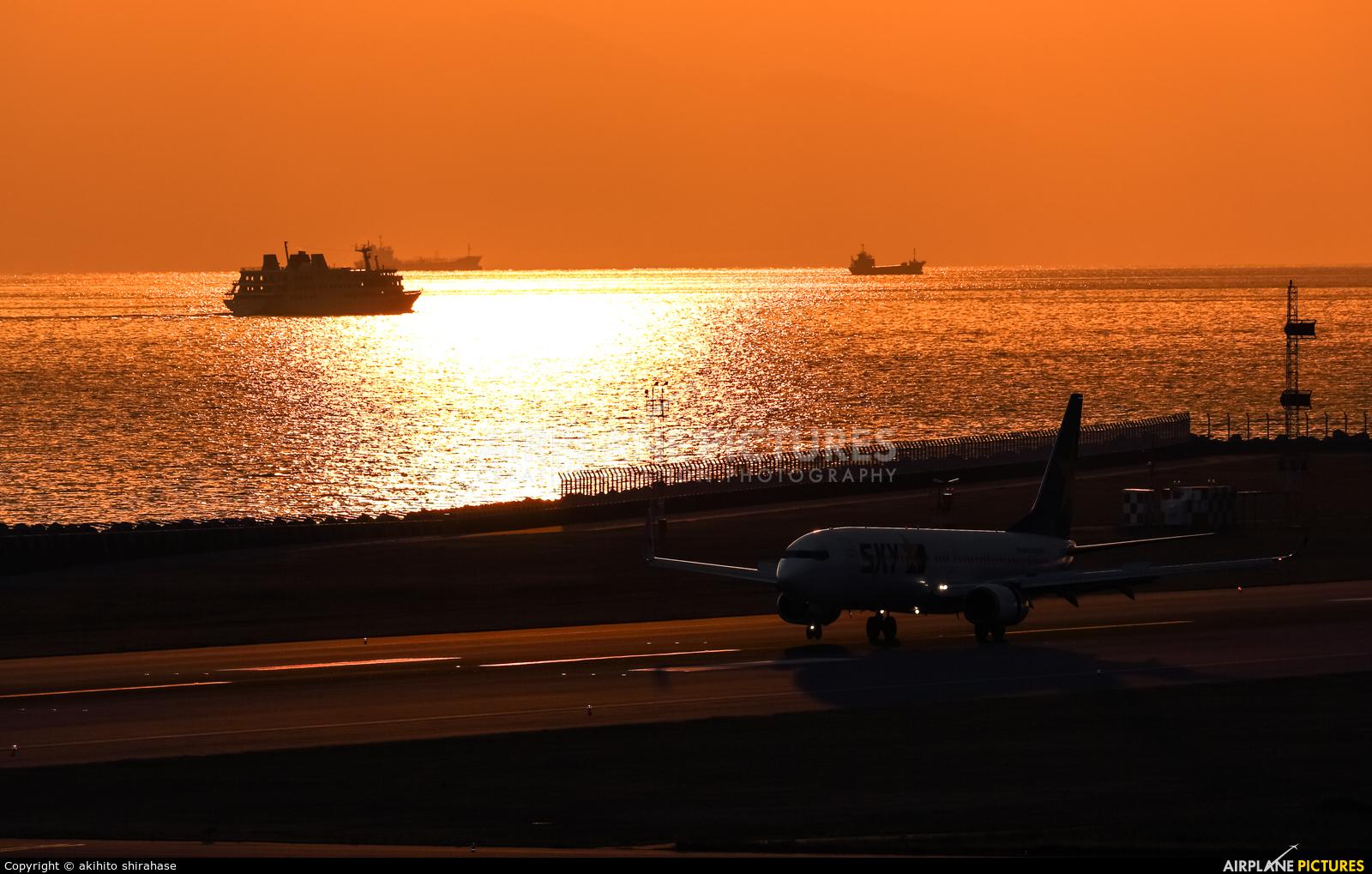 Skymark Airlines JA73NC aircraft at Kobe