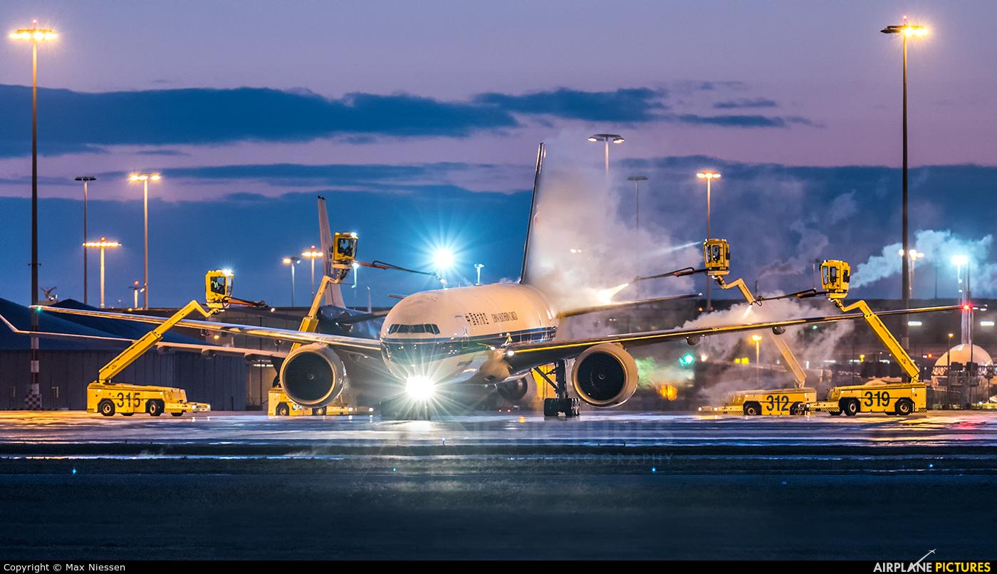China Southern Cargo B-2028 aircraft at Amsterdam - Schiphol