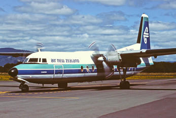 ZK-NFD - Air New Zealand Fokker F27-500