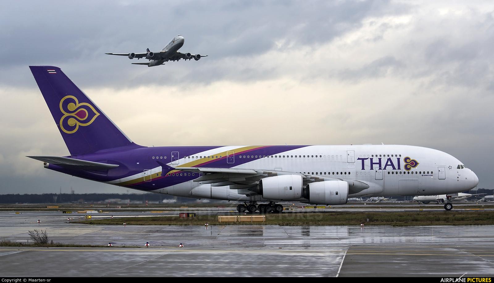 Thai Airways HS-TUC aircraft at Frankfurt