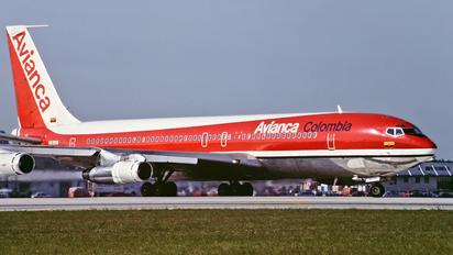 HK2016 - Avianca Boeing 707-300
