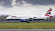 G-EUYB - British Airways Airbus A320 aircraft