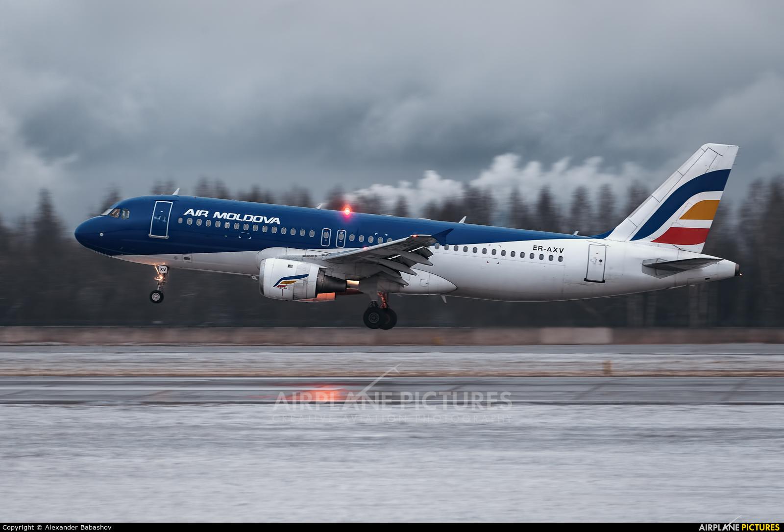 Air Moldova Airbus A320 ER-AXV
