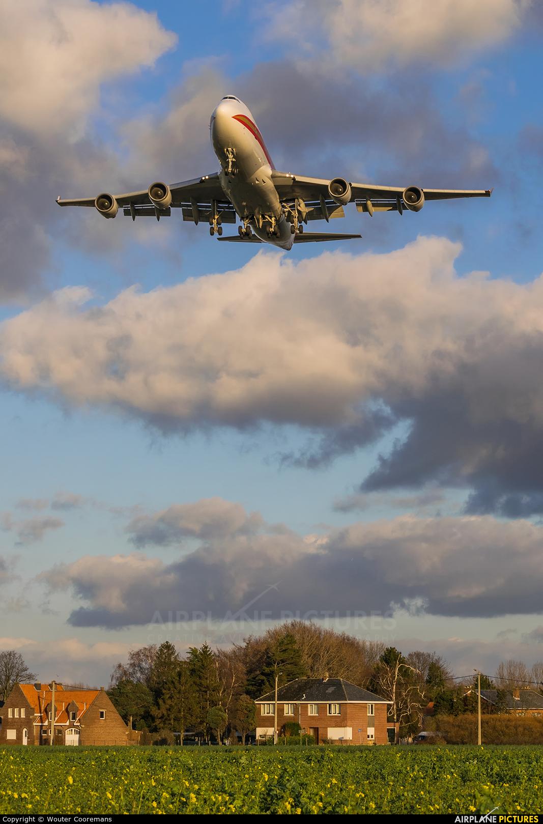 Kalitta Air N745CK aircraft at Brussels - Zaventem