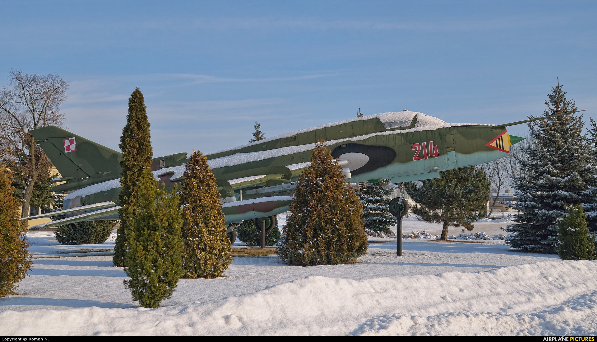 Poland - Air Force 3214 aircraft at Bydgoszcz - Szwederowo