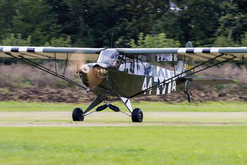 G-BHPK - Private Piper J3 Cub
