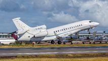 C-GLXC - Private Dassault Falcon 7X aircraft