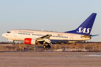 LN-RRZ - SAS - Scandinavian Airlines Boeing 737-600