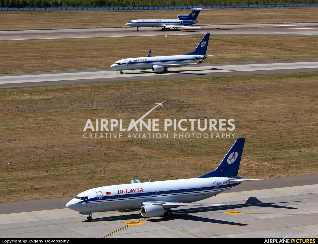 Belavia - aircraft at Minsk Intl