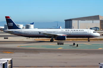 N560UW - US Airways Airbus A321
