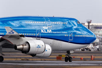 PH-BFV - KLM Boeing 747-400