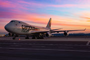 LX-TCV - Cargolux Italia Boeing 747-400F, ERF aircraft