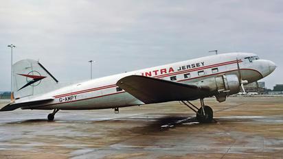 G-AMPY - Intra Jersey Airways Douglas DC-3