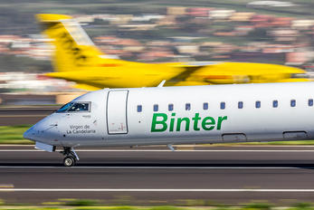 EC-JZV - Binter Canarias Canadair CL-600 CRJ-900