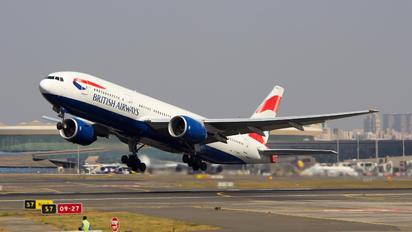 G-YMMT - British Airways Boeing 777-200