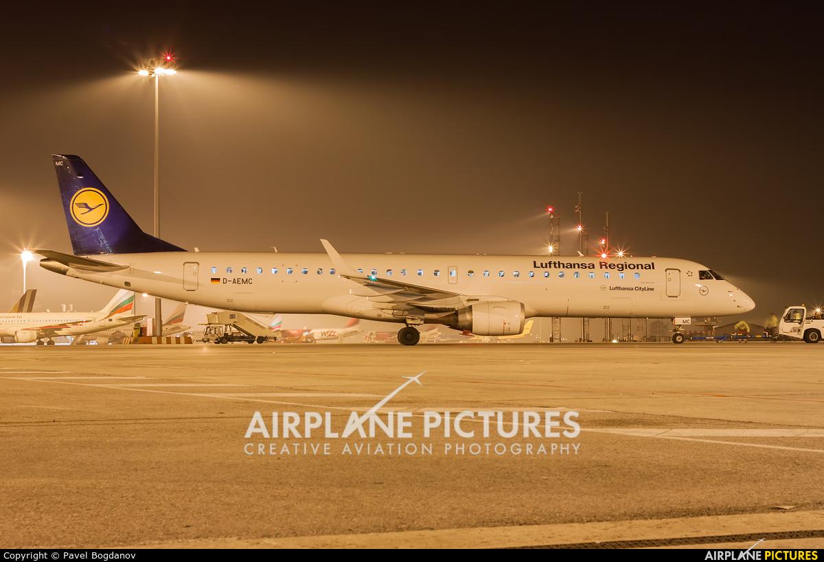 Lufthansa Regional - CityLine D-AEMC aircraft at Sofia