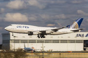 N199UA - United Airlines Boeing 747-400 aircraft