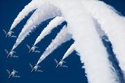 46-5731 - Japan - ASDF: Blue Impulse Kawasaki T-4 aircraft