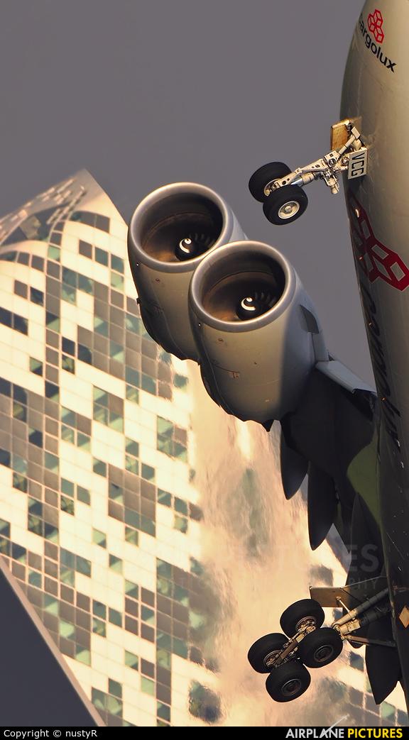 Cargolux LX-VCG aircraft at Amsterdam - Schiphol