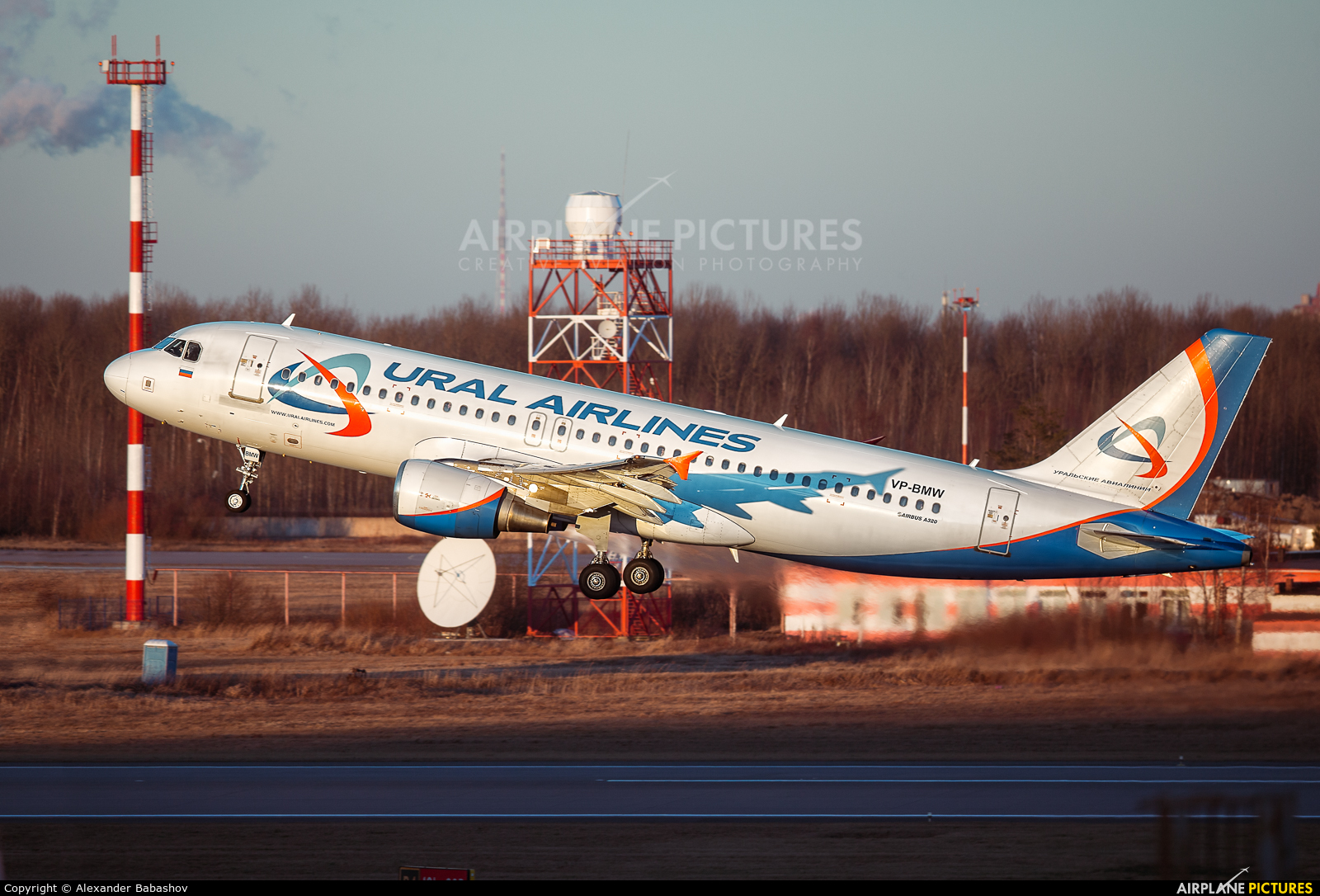 Ural Airlines Airbus A320 VP-BMW