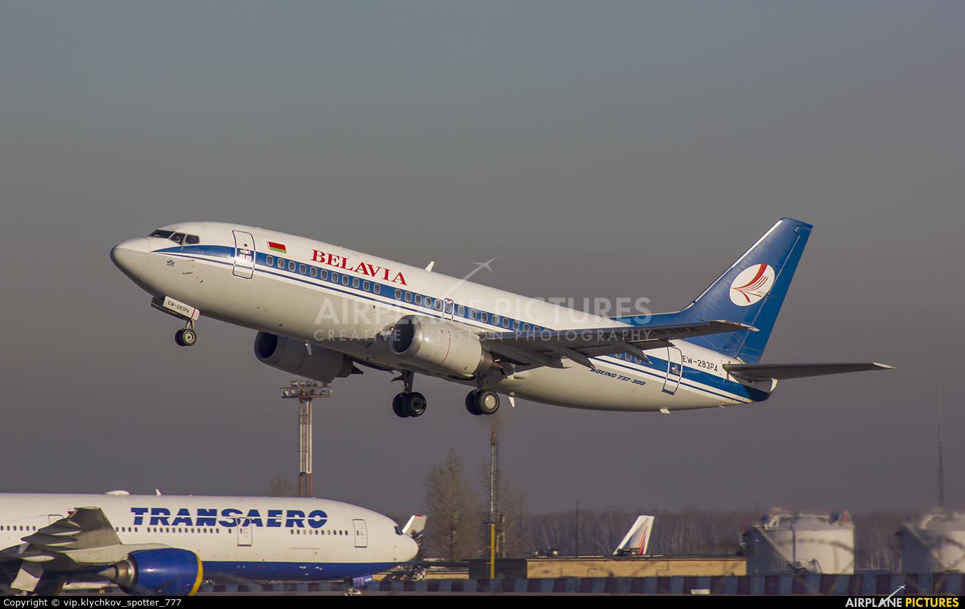 Belavia EW-283PA aircraft at Moscow - Domodedovo