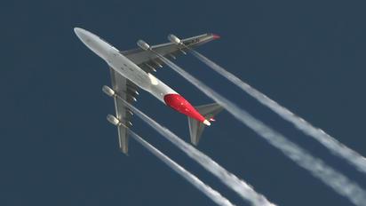 VH-OJU - QANTAS Boeing 747-400