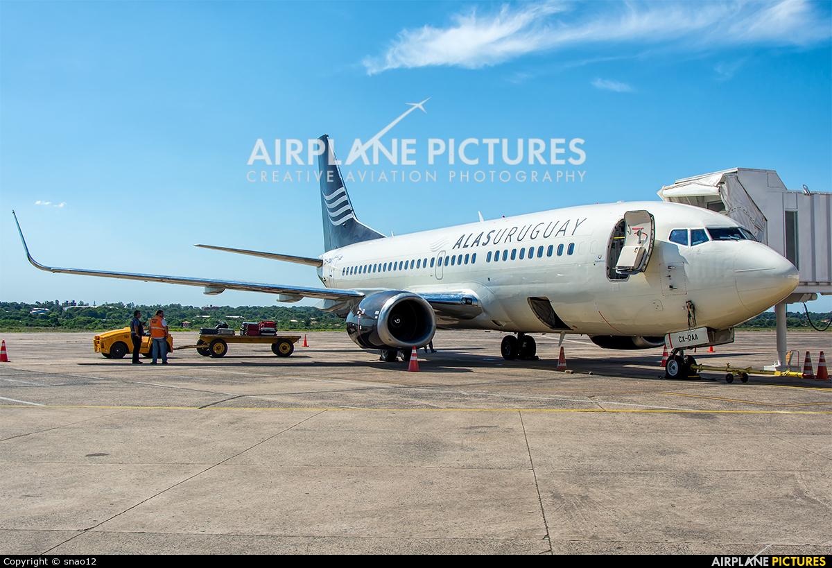 Alas Uruguay CX-OAA aircraft at Asuncion - Silvio Pettirossi Intl