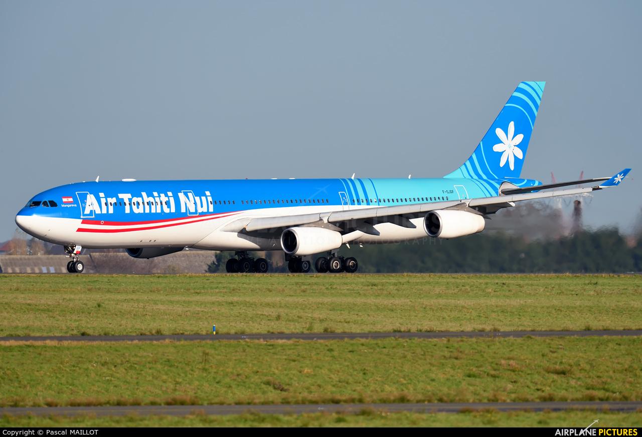 Air Tahiti Nui F-OJGF aircraft at Paris - Charles de Gaulle