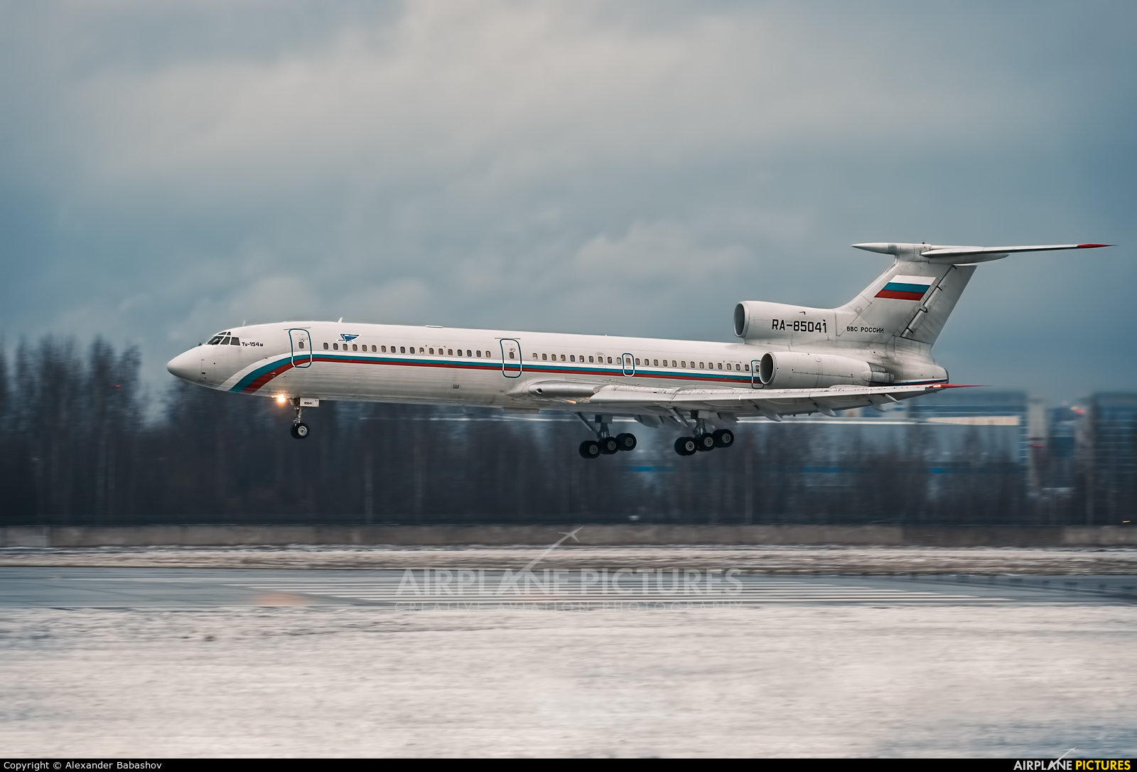 Russia - Air Force RA-85041 aircraft at St. Petersburg - Pulkovo