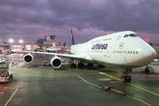 D-ABYJ - Lufthansa Boeing 747-8 aircraft