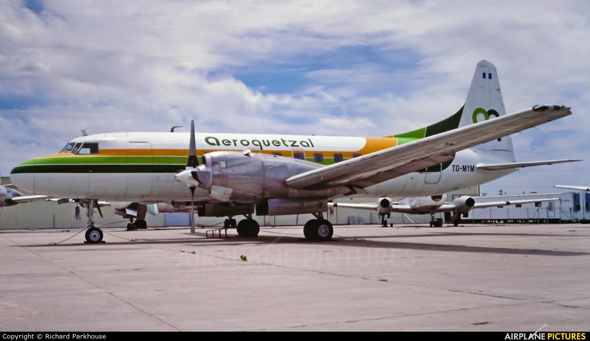 Aeroquetzal TG-MYM aircraft at Tucson Intl