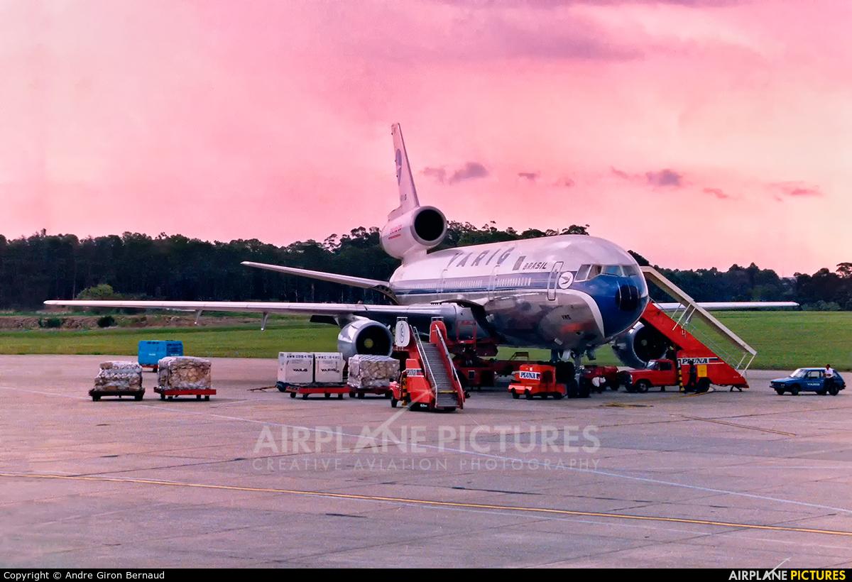 VARIG PP-VMS aircraft at Montevideo