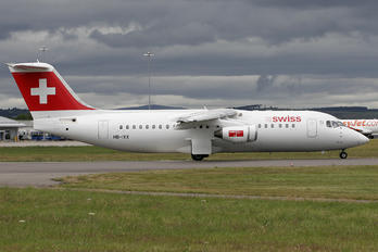 HB-IXX - Swiss British Aerospace BAe 146-300/Avro RJ100