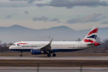 G-EUYW - British Airways Airbus A320